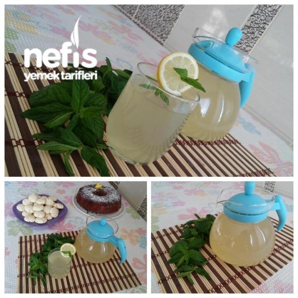Şifa Kaynağı Nane Limon Şerbeti (5 Dakikada)