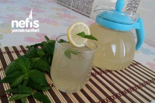 Şifa Kaynağı Limonlu Nane Şerbeti (5 Dakikada) Tarifi
