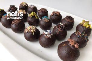 Çikolatalı Truff (Kalan Keki Değerlendirme) Tarifi