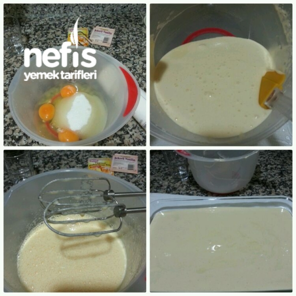 Çilekli Hafif Pasta