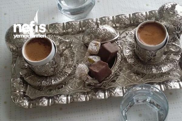 İki Kişilik Türk Kahvesi