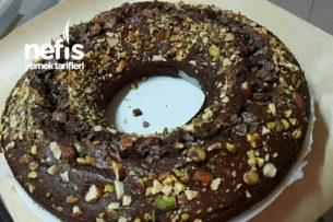 Nescafe Dolgulu Chocolate Kek Tarifi