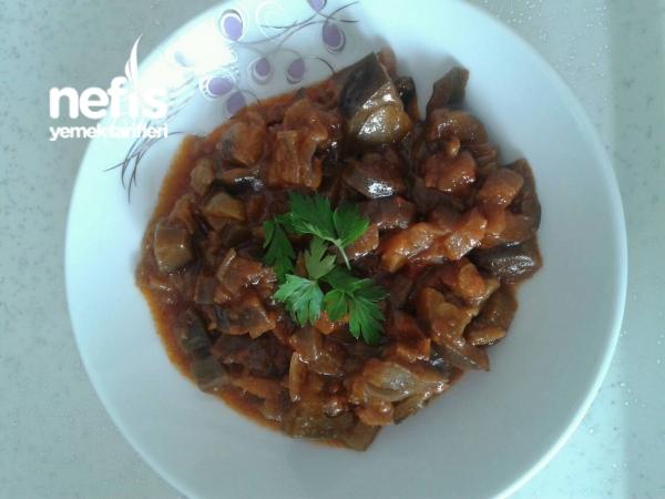 Patlıcan Yemeği (çok Sulu Sevmeyenlere)