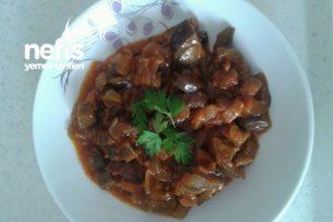 Patlıcan Yemeği (Çok Sulu Sevmeyenlere) Tarifi