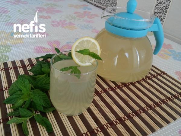 Şifa Kaynağı Limonlu Nane Şerbeti (5 Dakikada)