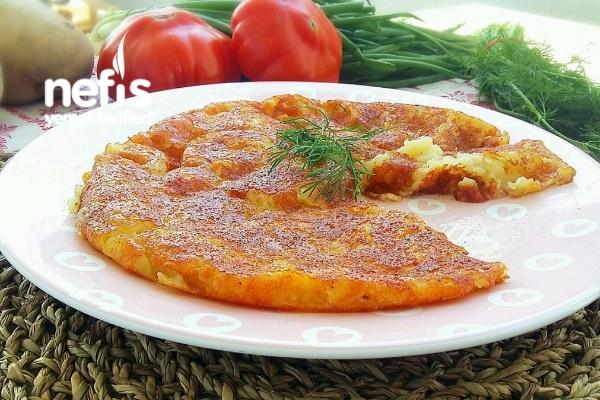 Kahvaltılık Kaşarlı Patates Mıhlaması Tarifi