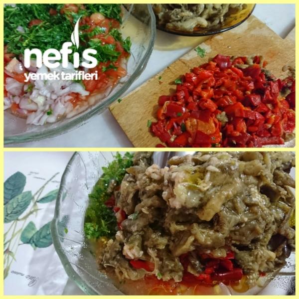 Manca (Köz Patlıcan Biber Salatası)