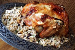 Muhteşem Tavuk Dolma (İç Pilavlı) Tarifi