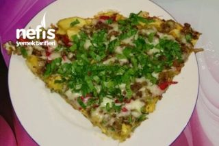 Tavada Kahvaltılık Patates Pizza Tarifi