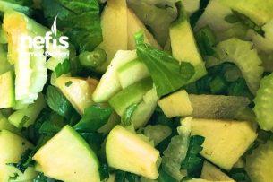 Kereviz Sapı Salatası İtalyan Soslu Tarifi