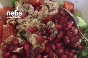 Narlı Ton Balıklı Salata Tarifi
