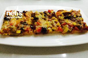 Nefis Ev Yapımı Pizza (Ayrıntılı Anlatım) Tarifi