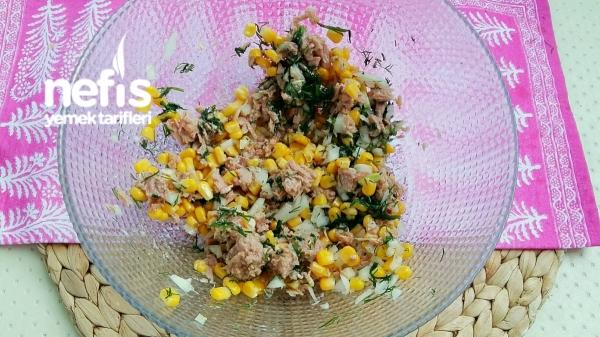 Yedikçe Yedirten Mısırlı Ton Balıklı Meze