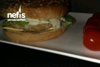 American Chicken Burger Tarifi