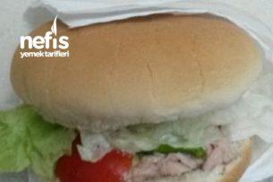 Çocuklar Ve Diyet Ara Öğünler İçin Nefis Tonbalıklı Sandwiç Tarifi