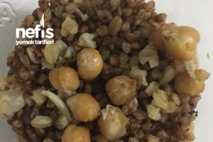 Karabuğday Pilavı- Kalorisi Az Tarifi