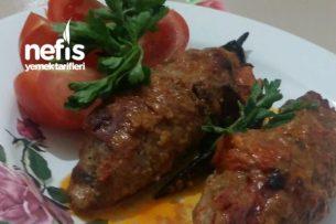 Közlenmiş Patlıcan Kebabı Tarifi