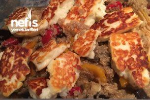 Hellim Ve Sebzeli Quinoa (Kinoa) Salatası Tarifi