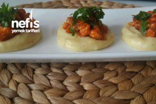 Porsiyonluk Patates Püresinde Tavuk Sote Tarifi