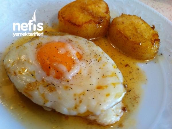 Kahvaltılık Yumurtalı- Kaşarlı Patates