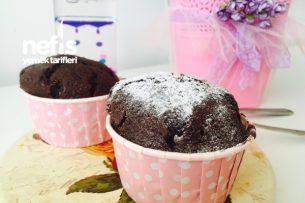 Kakaolu Frambuazlı Portakal Kabuklu Muffin ( Kesin Deneyin ) Tarifi