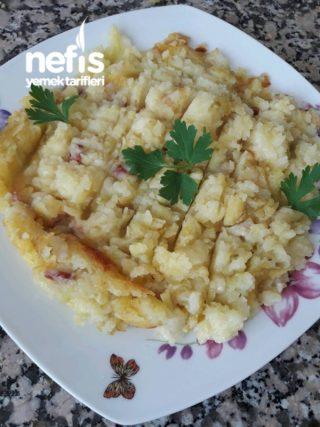 Kahvaltılık Kaşarlı Patates Tava