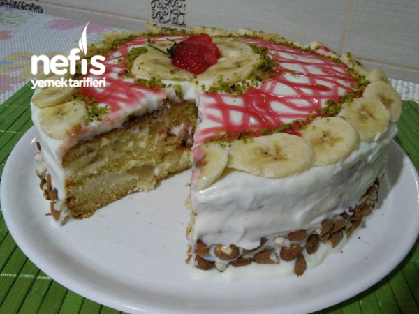 Muzlu Doğum Günü Pastası