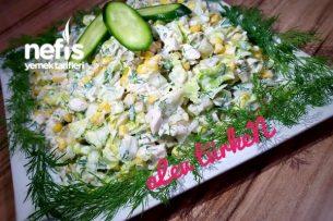 Şahane Tavuk Salatası (Gün Salatası) Tarifi