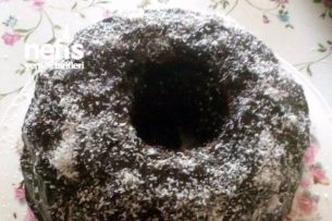Çikolata Soslu Üzümlü Nefis Kek Tarifi