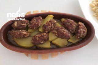 Güveçte Köfte Patates (Acil Durumlar İçin Çok Pratik) Tarifi