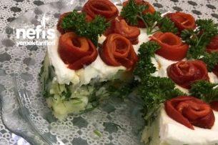 Köz Biberli Patates Salatası Tarifi
