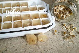Papatya Çayından Buzlar Tarifi