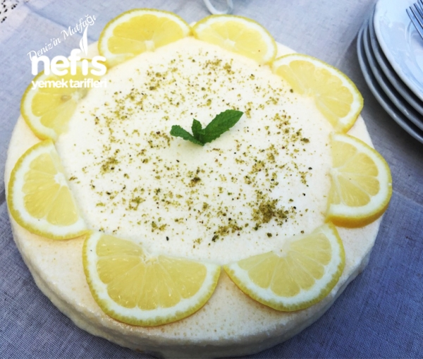 Limonlu Cheesecake Parfe