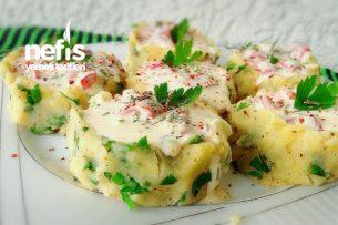 Közlenmiş Biber Dolgulu Patates Çanakları Tarifi