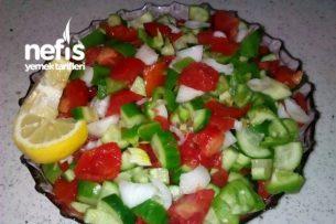 Diyet Salatam ( 10 dk ) Tarifi
