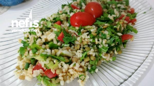 Diyet Bulgur Salatası