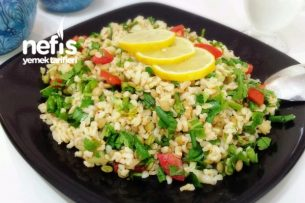 Diyet Bulgur Salatası Tarifi