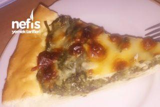 Ispanaklı Ton Balıklı Pizza Tarifi