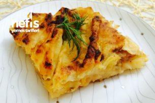Pratik Patlıcanlı Arnavut Böreği Tarifi