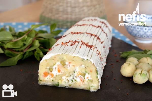 Rulo Patates Pastası (Tadına Doyulmaz Lezzet) Tarifi