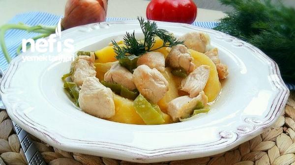 Şipşak Tavuklu Tencere Kebabı (Muhteşem)