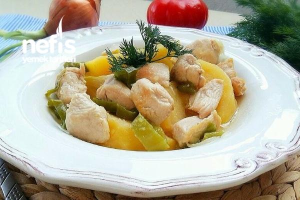 Şipşak Tavuklu Tencere Kebabı (Muhteşem) Tarifi