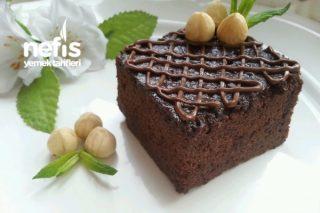 Pratik Islak Kek (Browni Tadında) Tarifi