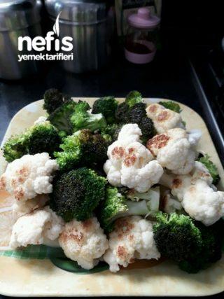 Kiymali Brokoli Ve Karnibahar Yemegi