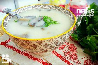 Kremalı Tadında Mantar Çorbası Videosu Tarifi