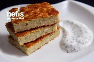 Fırında Kabak Böreği (Mücver Tadında) Tarifi