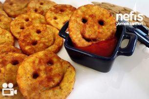 Gülen Yüz Patates Kızartması Videosu Tarifi