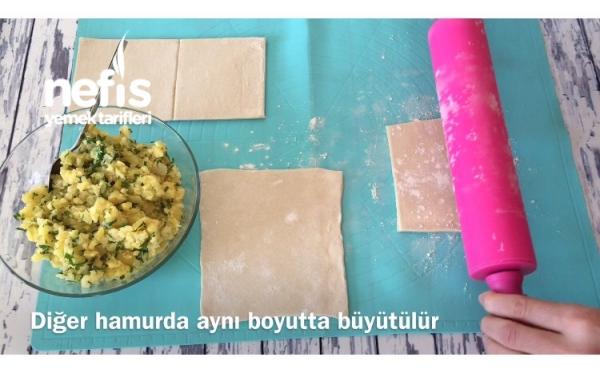 Susamlı Çıtır Milföy Börek