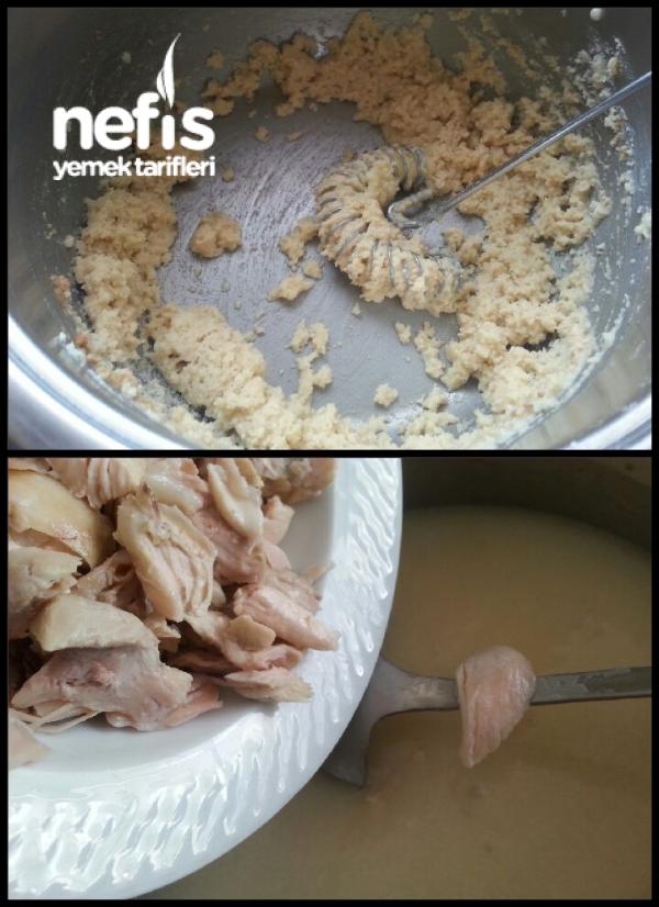 Terbiyeli Tavuklu Düğün Çorbası