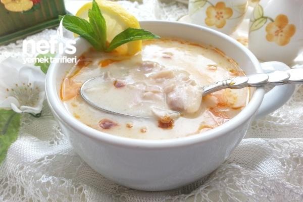 Terbiyeli Tavuklu Düğün Çorbası Tarifi